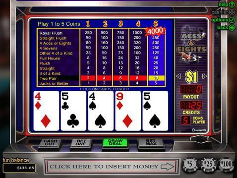 the aces and eights casino room slots casino