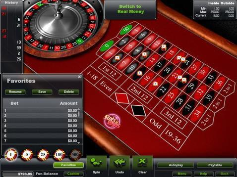 free roulette games no download