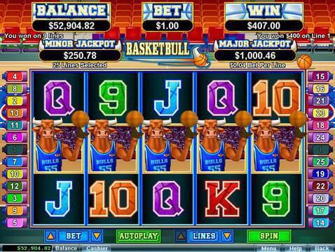 Basketbull Casino Game screenshot 2