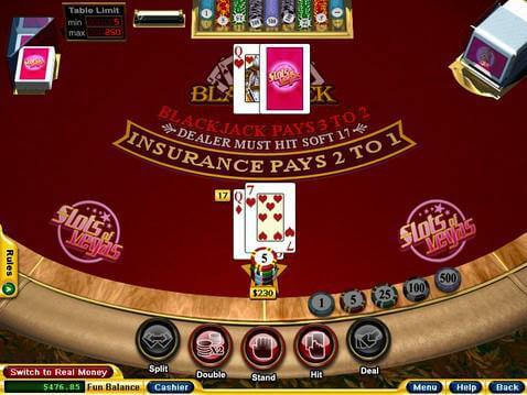 Blackjack Casino Game screenshot 2