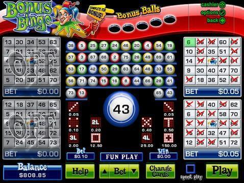casino bingo games