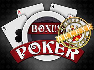 Bonus Poker Deluxe Casino Game screenshot 1