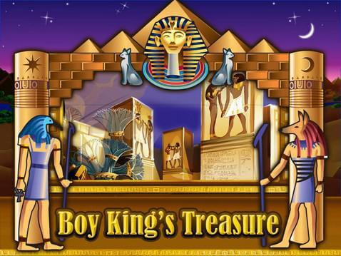 Boy King's Treasure Casino Game screenshot 1