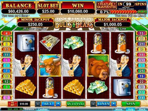 Bulls and Bears Casino Game screenshot 2