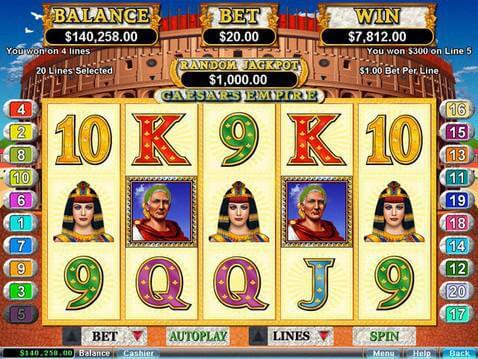 Caesar's Empire Casino Game screenshot 2