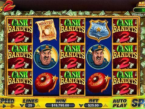 Cash Bandits 2 Casino Game screenshot 2