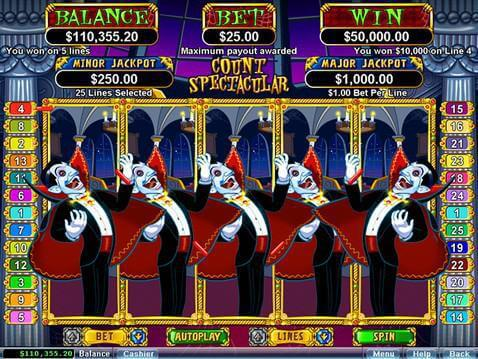 Count Spectacular Casino Game screenshot 2