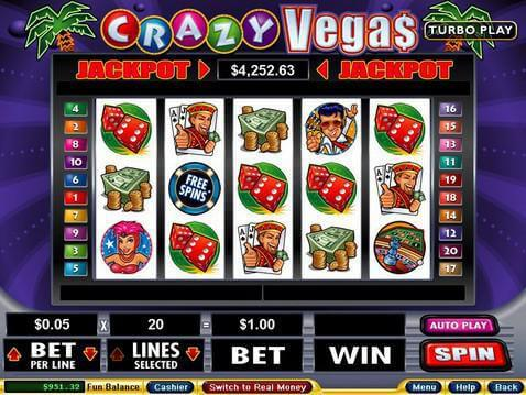 Crazy Vegas Casino Game screenshot 2