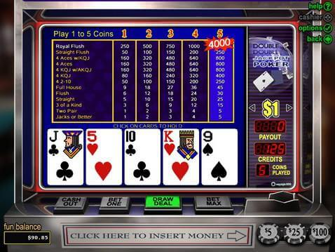 Double Double Jackpot Poker Casino Game screenshot 2