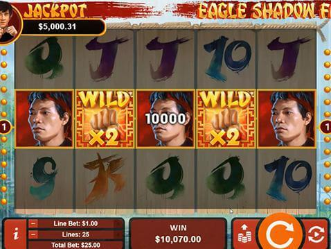 Eagle Shadow Fist Casino Game screenshot 2