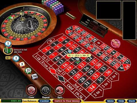 online casino slot machines european roulette