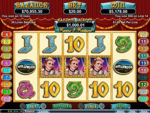Fame and Fortune Casino Game screenshot 2