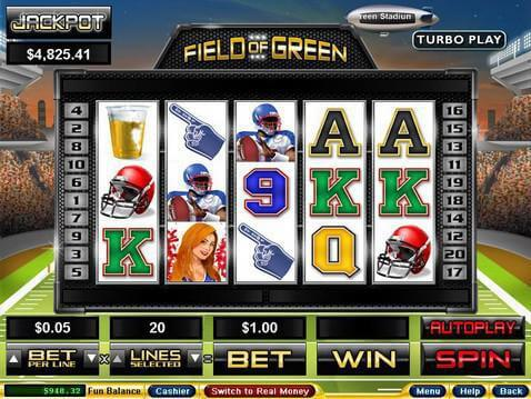 Field of Green Casino Game screenshot 2