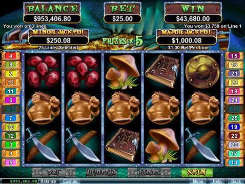 Goblin's Treasure Casino Game screenshot 2