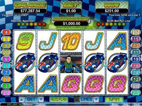free slot games green light