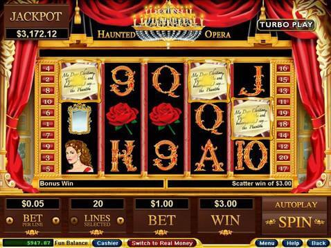 Haunted Opera Casino Game screenshot 2