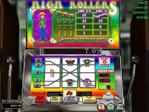 High Rollers Casino Game screenshot 2