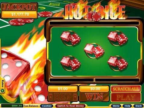 Thunder Hot Dice Game - Try the Online Game for Free Now
