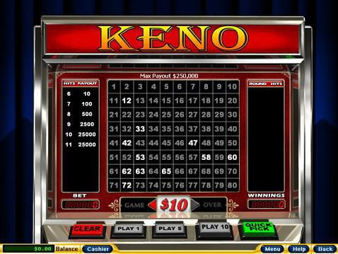 Free online keno slots glee poker face chords piano