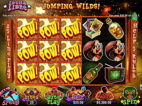 Spiele Lucha Libre 2 - Video Slots Online