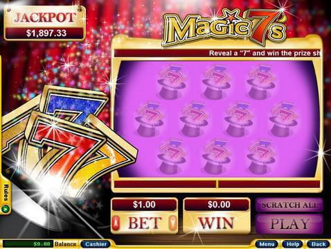 Magic 7's Casino Game screenshot 2