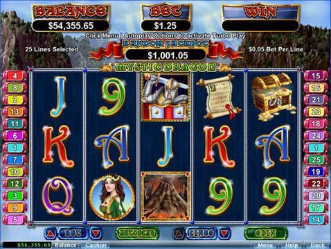 Mystic Dragon Casino Game screenshot 2