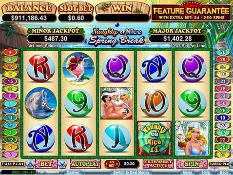 online slots naughty nice
