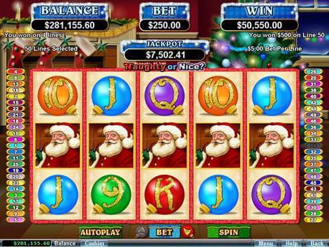 Naughty or Nice? Casino Game screenshot 2