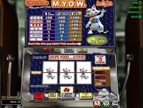 Operation M.Y.O.W Casino Game screenshot 2