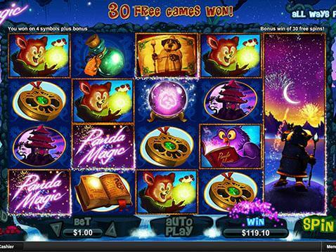 Panda Magic Casino Game screenshot 2