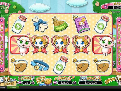 Purrfect Pets Casino Game screenshot 2