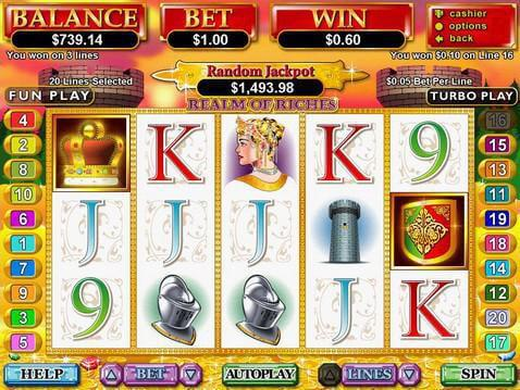 Realm of Riches Casino Game screenshot 2