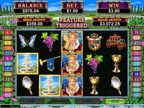 Regal Riches Casino Game screenshot 2