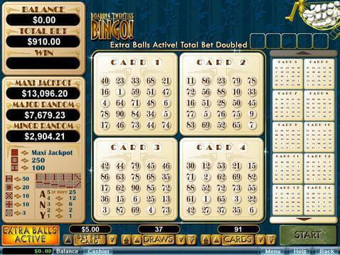 Roaring Twenties Bingo Casino Game screenshot 2