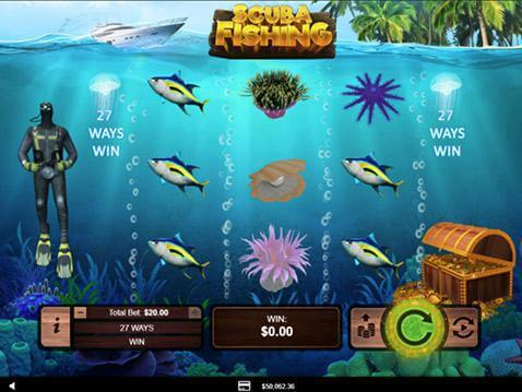 Scuba Fishing Casino Game screenshot 2