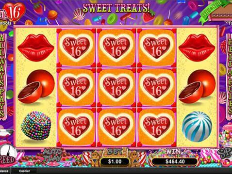Sweet 16 Casino Game screenshot 2
