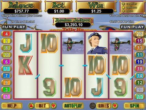 play free tally ho online casino slot games with $888