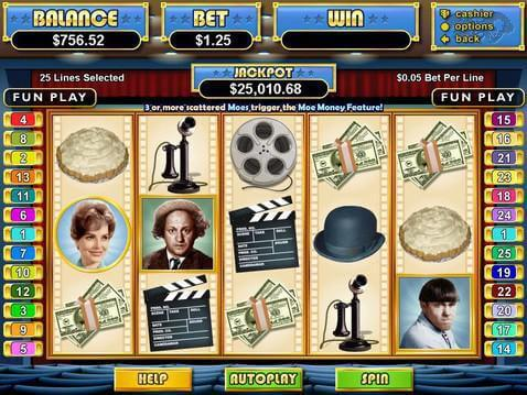 The Three Stooges Casino Game screenshot 2