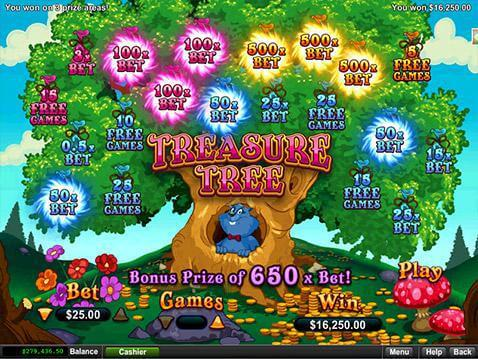 Treasure Tree Casino Game screenshot 2