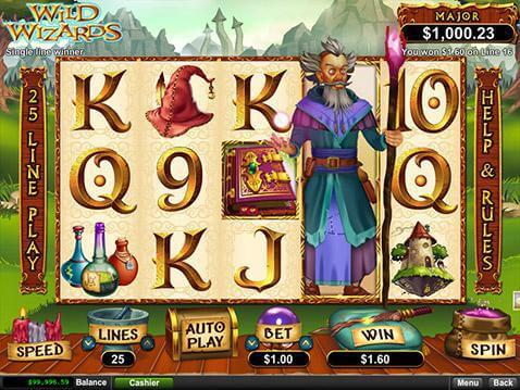 Wild Wizards Casino Game screenshot 2