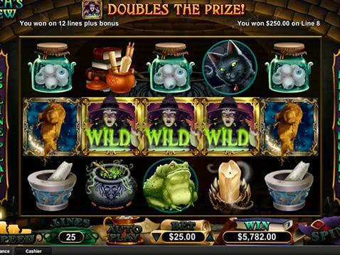 Witch's Brew Casino Game screenshot 2