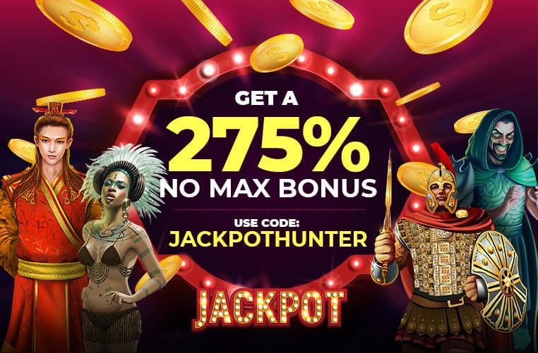 Get 275% Casino Bonus - Slots of Vegas casino