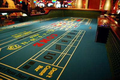 craps table biggest wins