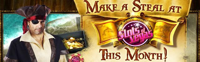 Slots of Vegas' May Promotions: Grab Some Pirate Booty!