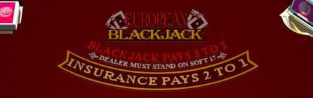 What's the Deal with European Blackjack at Slots of Vegas?