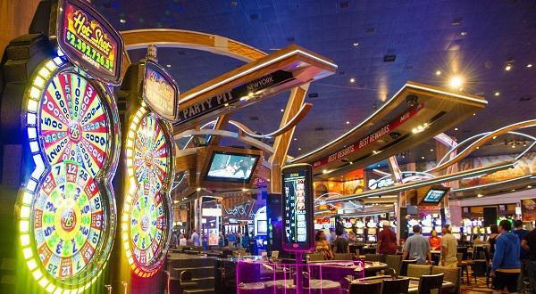 Gambling in real casino