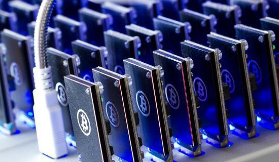 Bitcoin Mining device