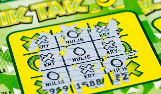 Huge wins with scratch cards
