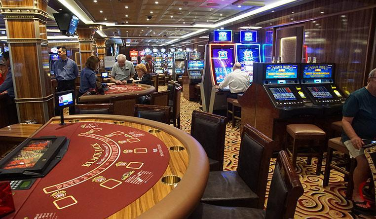 Blackjack casino Cruise Ship
